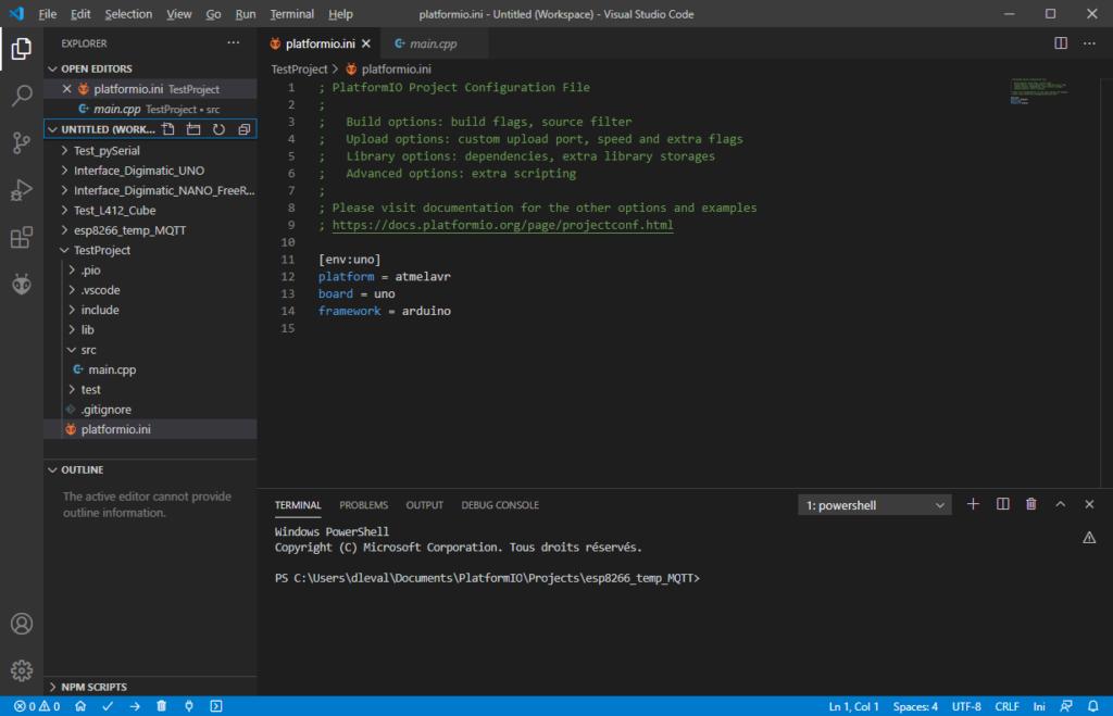 PlatformIO init file
